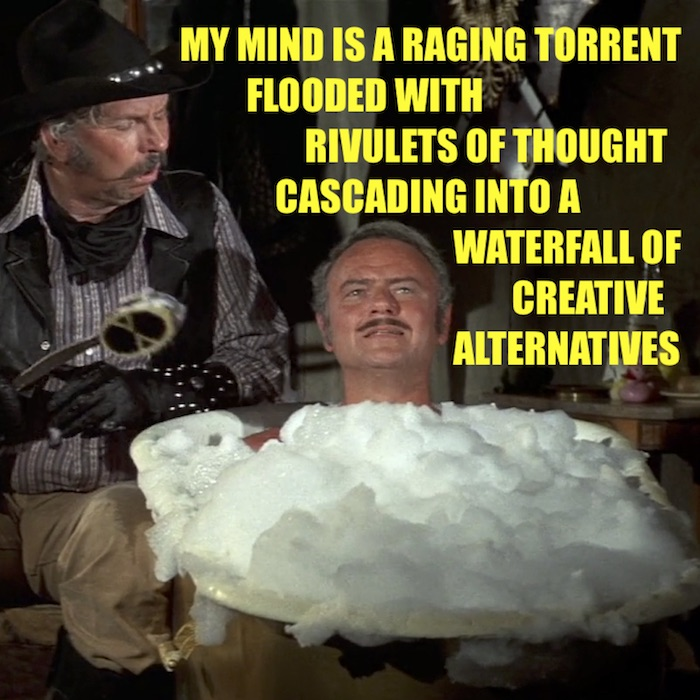 Mind is a raging torrent 700x700